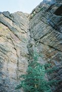 Rock Climbing Photo: The awesome dihedral-- doesn't get much better!