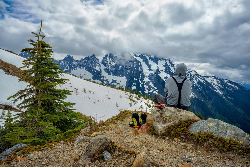 Rock Climbing Photo: Johannesberg Mountain