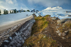 Rock Climbing Photo: Mt. Baker and Seward, Lincoln, Colfax peaks