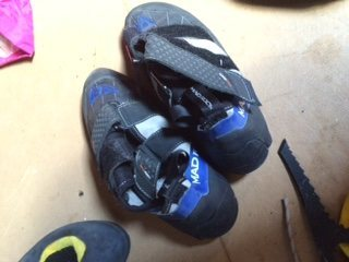 Rock Climbing Photo: MR climbing shoes