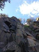 Rock Climbing Photo: column direct?