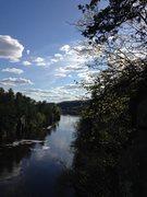 Rock Climbing Photo: View from the Minnesota Strip