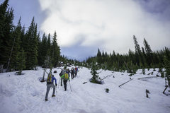 Rock Climbing Photo: Liberty Bell Group Approach