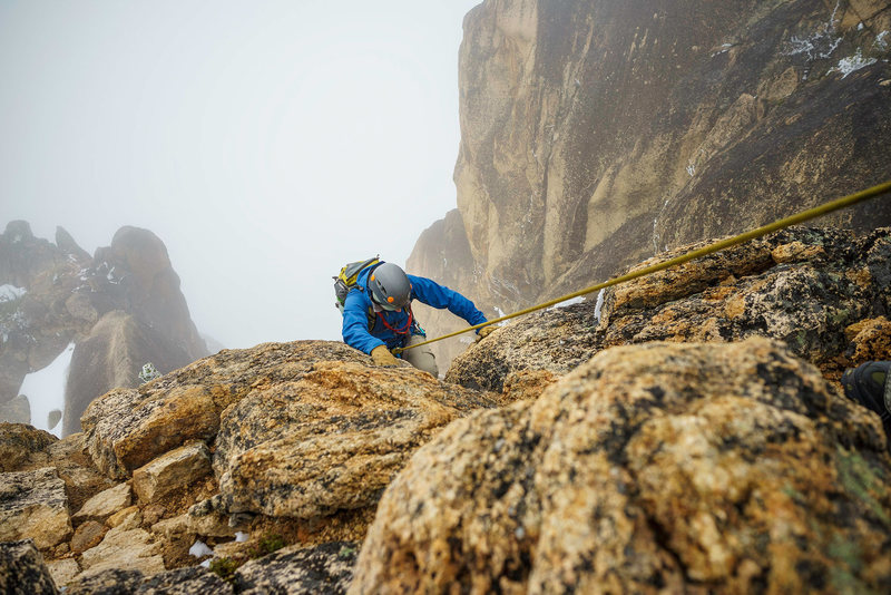 Rock Climbing Photo: On Route