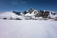 Dana summit and plateau snow conditions, 5/29/2016