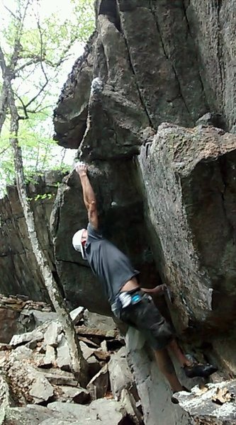 Rock Climbing Photo: Pow
