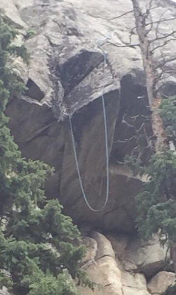 Beware of rope drag.