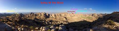 Rock Climbing Photo: Here is a panoramic photo of the entire valley fro...
