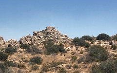 Rock Climbing Photo: tombstone wall as seen from road 155