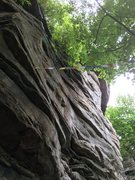 Rock Climbing Photo: This is how access issues begin. Total lack of res...