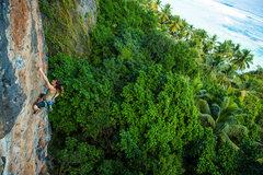 Rock Climbing Photo: Sector Paraiso, Playa Frontón