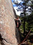 Rock Climbing Photo: The Voyeur, aka The Observer