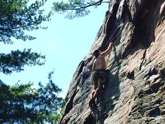 Rock Climbing Photo: Remo on Big Deal.