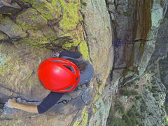 Rock Climbing Photo: We linked pitches via Great Zot with a 70m. This w...