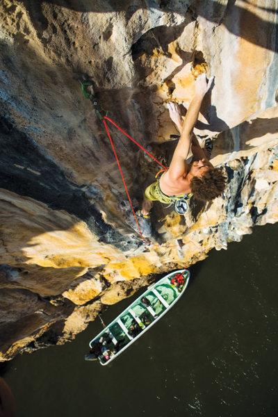 Rock Climbing Photo: Bahia San Lorenzo
