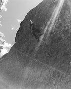 Rock Climbing Photo: That beautiful Honey Bucket :)