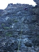 Rock Climbing Photo: Cold mornings in the canyon.