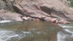 Rock Climbing Photo: Some neato new big rocks on the west side of the S...