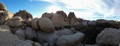 Rock Climbing Photo: sky
