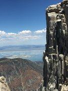 Rock Climbing Photo: Spotting 3rd Pillar of Dana