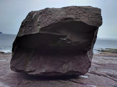 Rock Climbing Photo: South side of the Main boulder