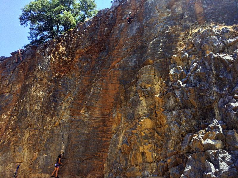 Rock Climbing Photo: Scale Wall