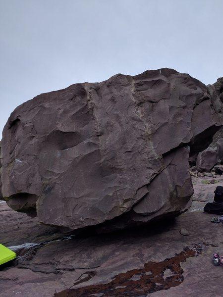 West side of the Main boulder