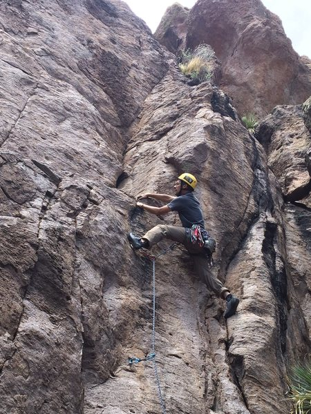 Pulling the crux
