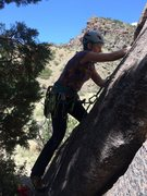 Rock Climbing Photo: First clip
