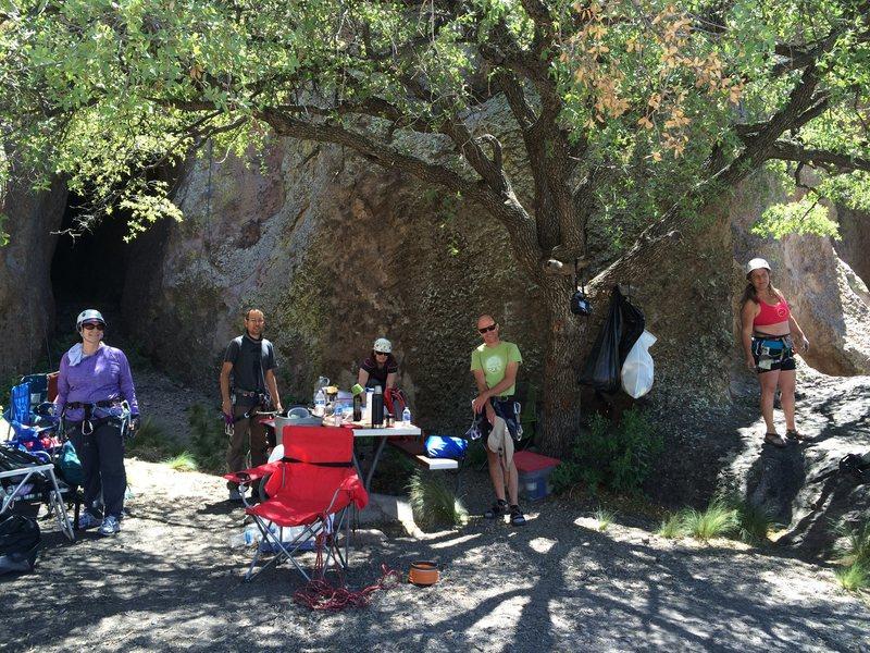 Rock Climbing Photo: NM Mountain Club 2016 Memorial Day weekend
