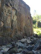 Rock Climbing Photo: reachy move