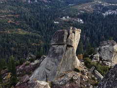 Rock Climbing Photo: Phantom Spire >> Middle Spire >> Over ...