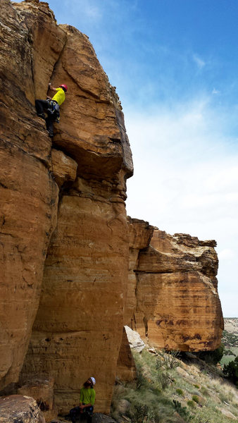 Rock Climbing Photo: Queen's Ride.