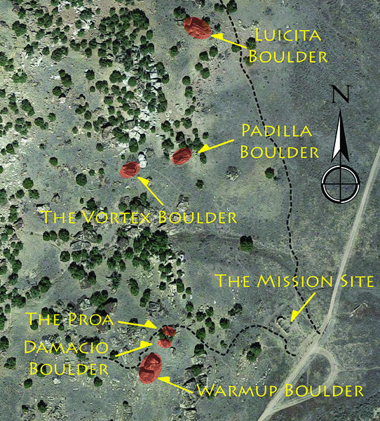Mission Boulders overview.