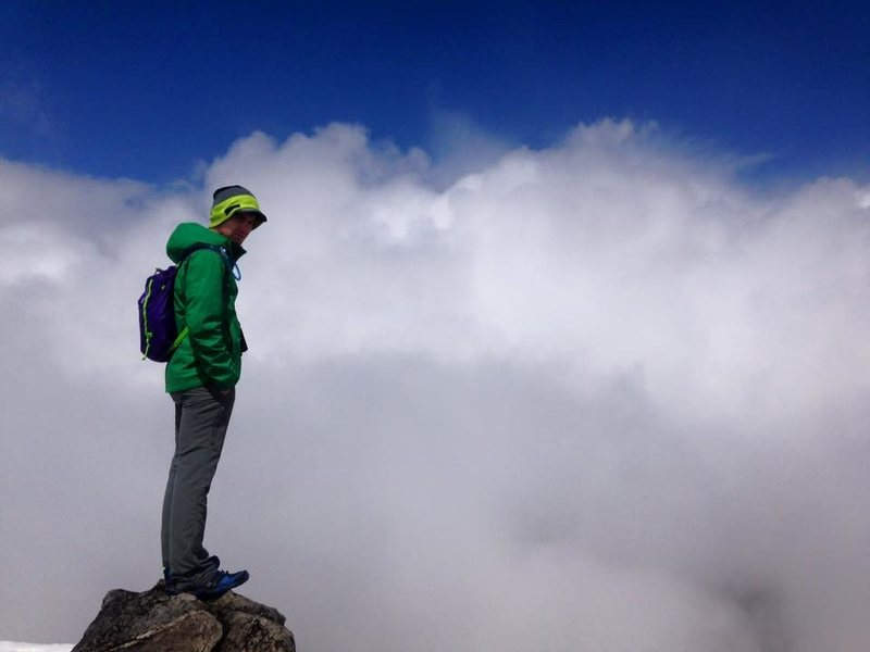 Summit of Tiffany Mountain, Okanogan County, WA.