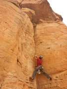 Rock Climbing Photo: Starting the climb.