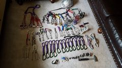 Rock Climbing Photo: Full rack pic.   BD Cams SOLD!