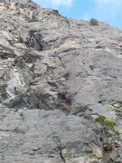 Rock Climbing Photo: Justin and Tamera on P3 of Sisyphus (05/29/16)