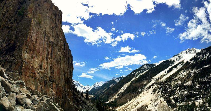 Rock Climbing Photo: Beautiful wall. Beautiful view!!