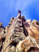 Rock Climbing Photo: Can't remember the name... The Tip???