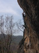 Rock Climbing Photo: Two friends on one of the multipitches at Crazy Ho...