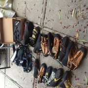 Rock Climbing Photo: shoes and harness