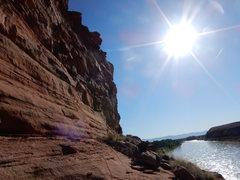 Rock Climbing Photo: The view.