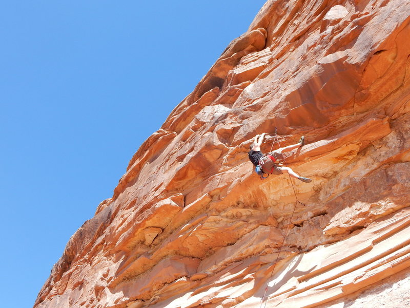Rock Climbing Photo: The 5.12-.