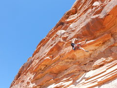 Rock Climbing Photo: The 5.12-.
