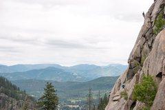 Rock Climbing Photo: At the top of Cloud Nine!