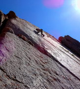 "Rock Climbing Photo: Mike F.A. ""Shaved bush""  5.10d ⭐️⭐..."