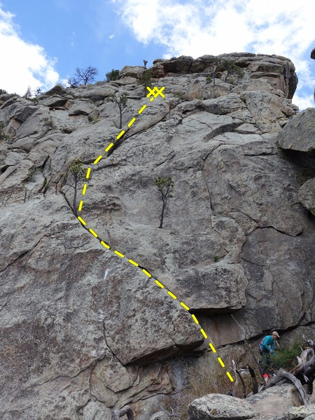 Rock Climbing Photo: Wet Exit.