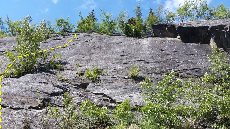 Rock Climbing Photo: Seams to Me