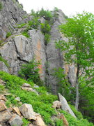 Rock Climbing Photo: Planet Claire ... June 2016 Lots of flying bugs !!...